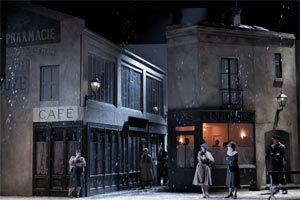 Act Three of La bohème (ENO, Oct 2010). Photograph: Robert Workman