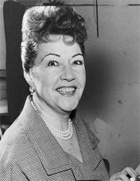 Ethel Merman (1908-84)