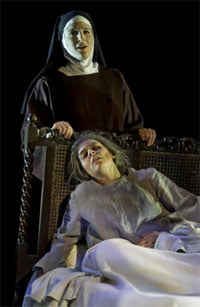 Dialogues des Carmélites, Guildhall Opera School, March 2011. Photograph: Clive Barda