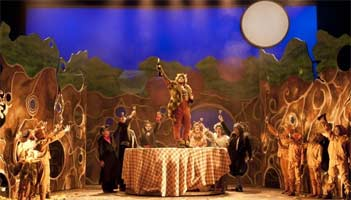 Fantastic Mr Fox, English Touring Opera. Photograph: Richard Hubert Smith