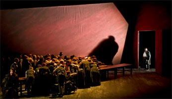 Act I of Peter Grimes, The Royal Opera, June 2011. Photograph: Clive Barda