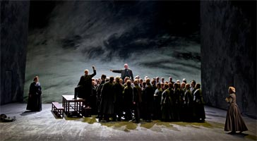 Act II of Peter Grimes, The Royal Opera, June 2011. Photograph: Clive Barda