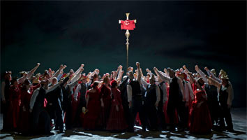 Act III of Peter Grimes, The Royal Opera, June 2011. Photograph: Clive Barda
