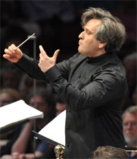 Antonio Pappano conducts Rossini's William Tell at the BBC Proms 2011. Photograph: BBC/Chris Christodoulou
