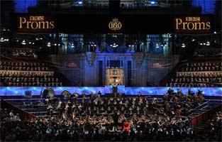 Simón Bolívar Symphony Orchestra performs Mahler's Resurrection Symphony at the BBC Proms 2011. Photograph: BBC/Chris Christodoulou