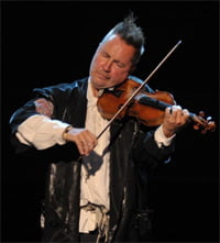 Nigel Kennedy at the BBC Proms 2011. Photograph: BBC/Chris Christodoulou