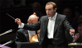 Mark Wigglesworth at the BBC Proms 2011. Photograph: BBC/Christodoulou