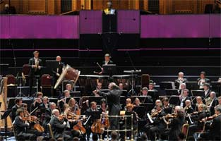 Valery Gergiev conducts the Orchestra of the Mariinsky Theatre at the BBC Proms 2011. Photograph: BBC/Chris Christodoulou