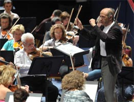 Iván Fischer conducting the Budapest Festival Orchestra at the BBC Proms 2011. Photograph: BBC/Chris Christodoulou