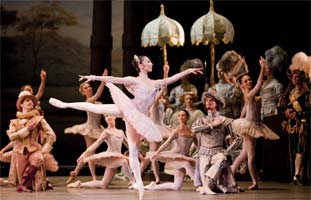 Hikaru Kobayashi in The Sleeping Beauty. Photograph: Royal Opera House, Johan Persson