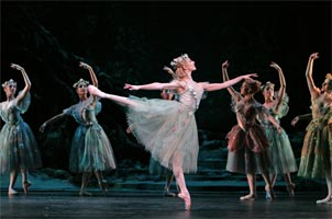 Alina Cojocaru as Titania (The Dream, The Royal Ballet, February 2012). Photograph: Dee Conway