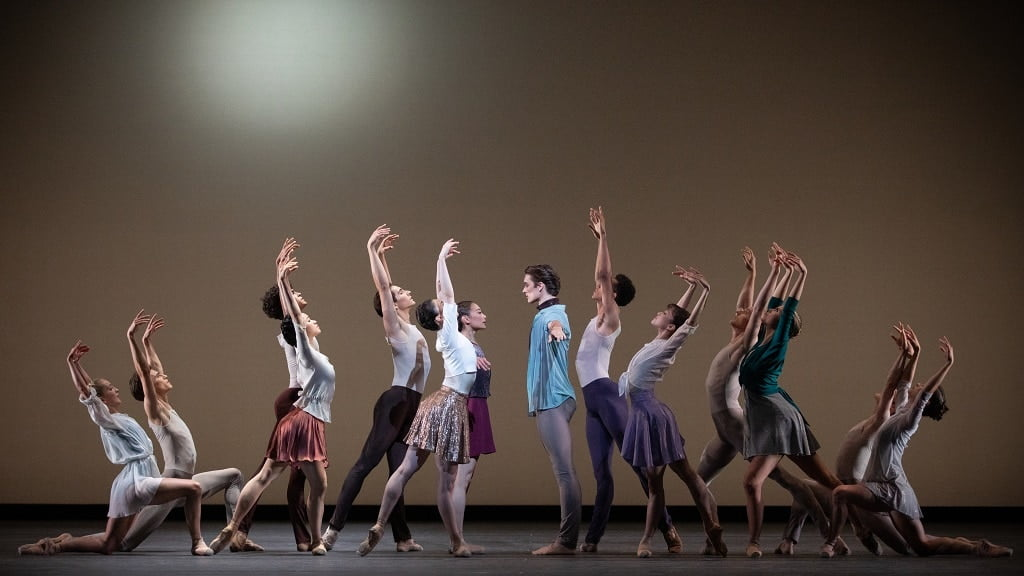 Artists of the Royal Ballet in Anemoi, The Royal Ballet ©2021 ROH. Photograph: Alice Pennefather