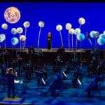 BTS ENO Breathe lullaby filming, ENO Orchestra, Soraya Mafi © Karla Gowlett, courtesy of ENO