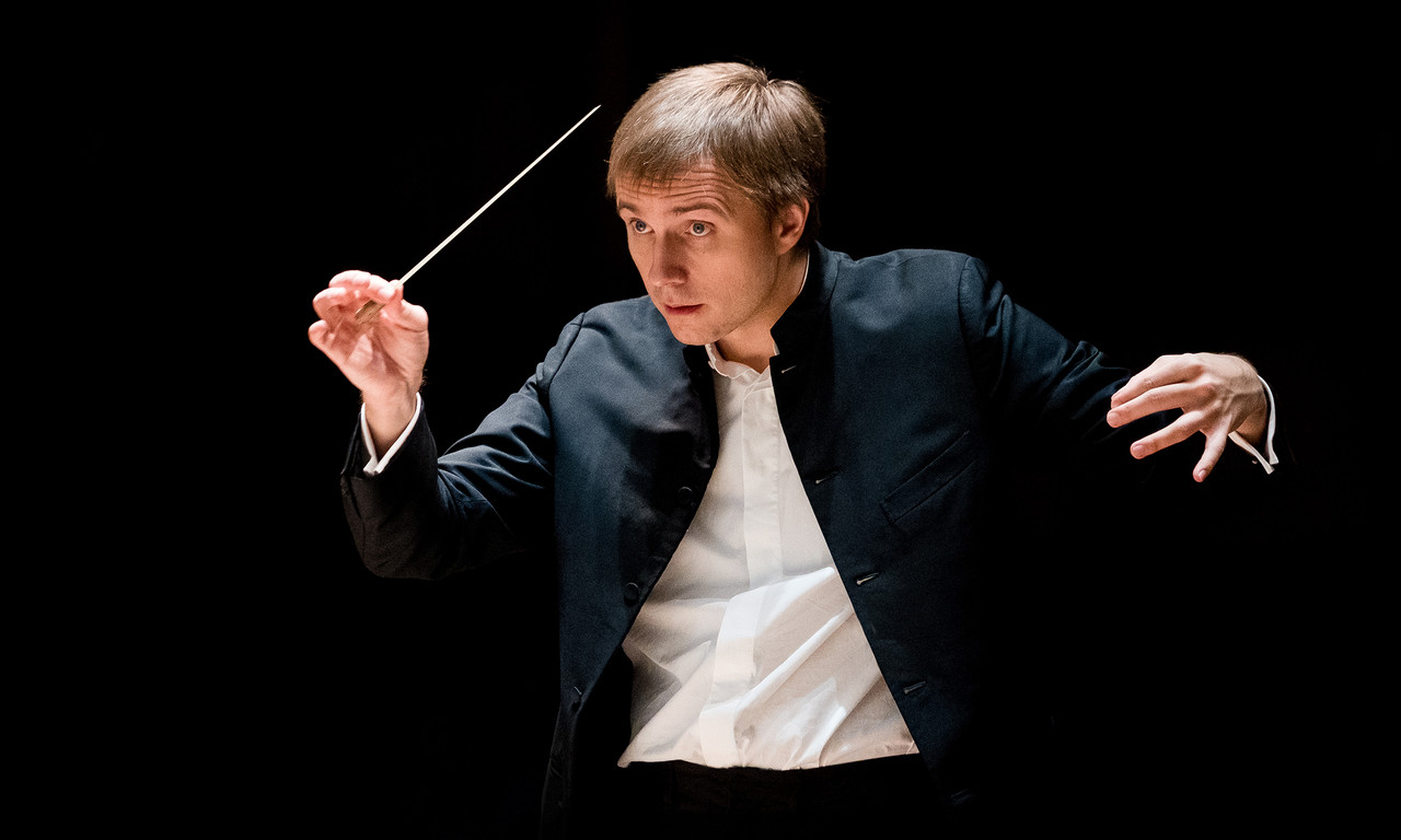 Chief Conductor Vasily Petrenko. Photograph by Mark McNulty