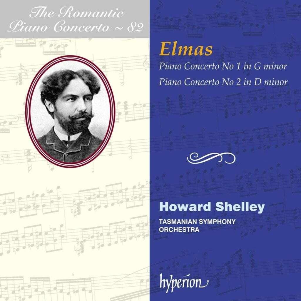 Elmas - Piano Concertos - The Romantic Piano Concerto Vol 82 [Howard Shelley Tasmanian Symphony Orchestra] [Hyperion Records - CDA68319]