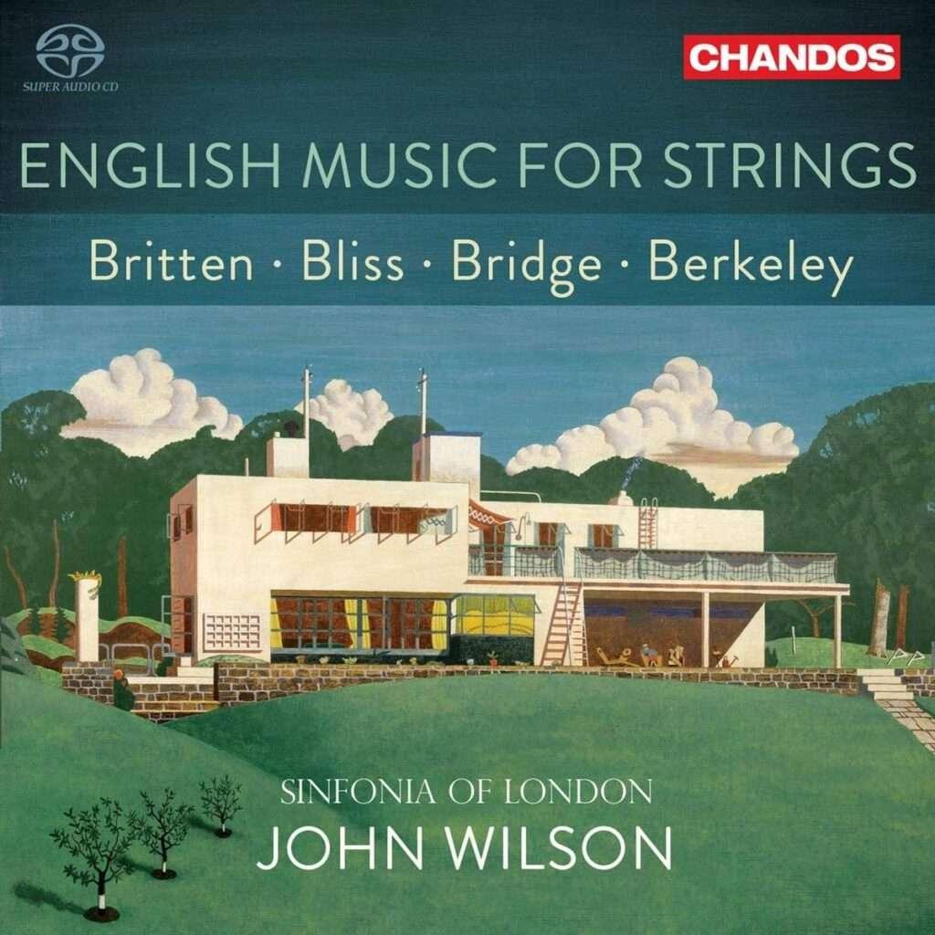 English Music For Strings [Sinfonia of London - John Wilson] [Chandos Records- CHSA 5264]