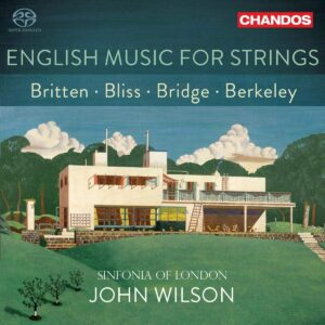 English Music For Strings [Sinfonia of London - John Wilson] [Chandos Records- CHSA 5264]