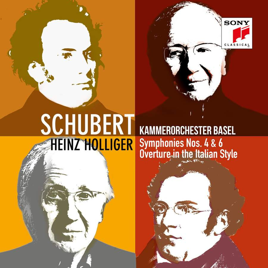 Heinz Holliger conducts Schubert 4 & 6 [Sony Classical]