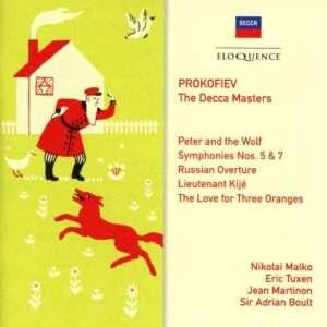 Prokofiev eloquence decca masters