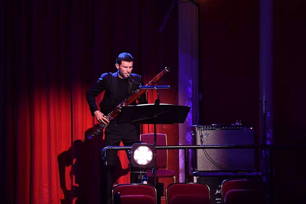 Jonathan Davies - bassoon. Photo: BBC/Chris Christodoulou