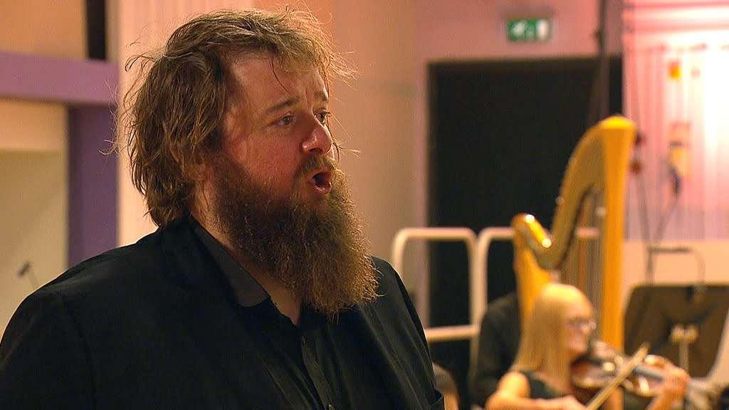Allan Clayton (tenor) Photo: BBC