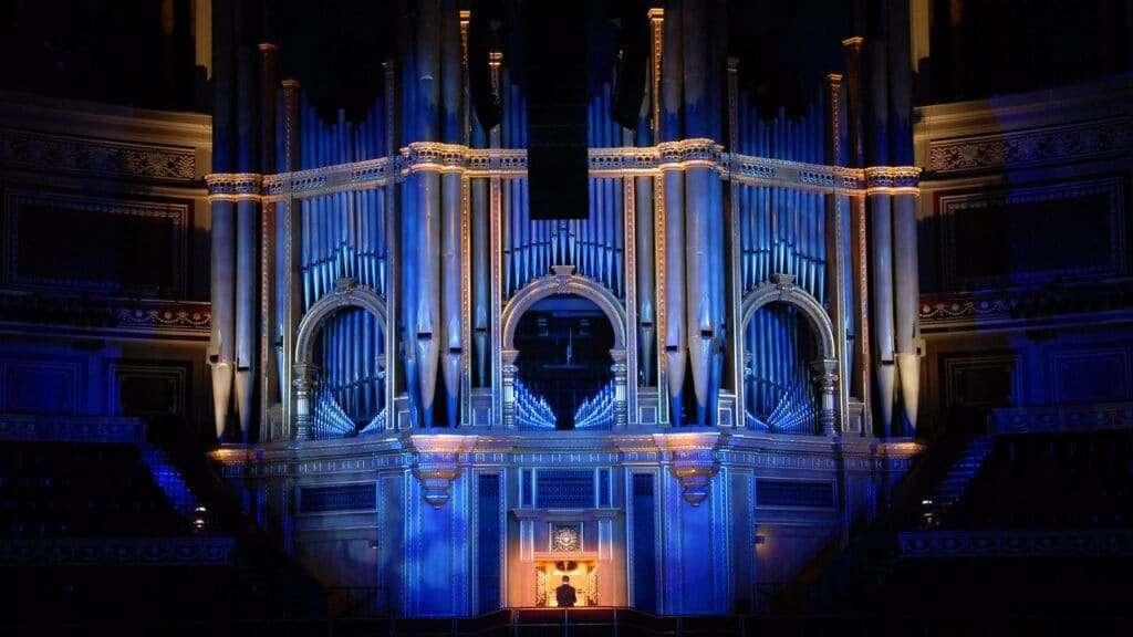 Royal Albert Hall organ Photograph: www.royalalberthall.com