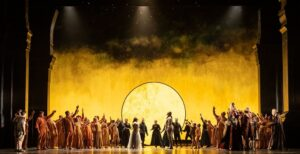 The Royal Opera's production of The Magic Flute. Photograph: ROH 2021