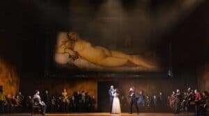 The Royal Opera's production of Rigoletto. Photograph: ROH / Ellie Kurttz