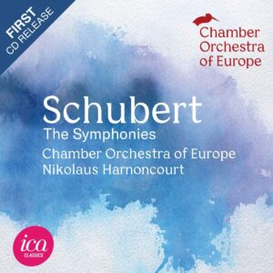 Schubert - The Symphonies [Chamber Orchestra of Europe - Nikolaus Harnoncourt] [Ica Classics - ICAC 5160]