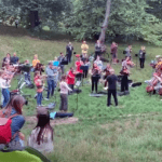 Sibelius in the park