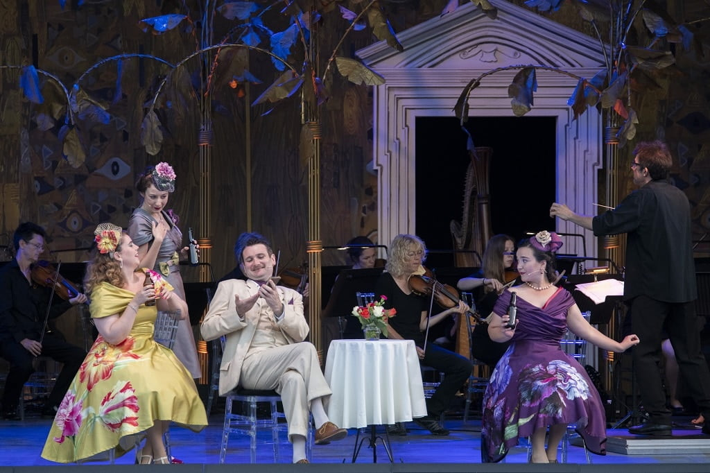 West Green House Opera's production of Puccini's La rondine Photograph: John Hobley