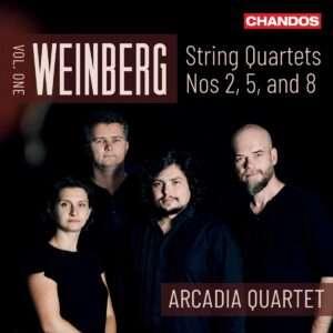 Weinberg - String Quartets Vol 1 [Arcadia Quartet] [Chandos Records - CHAN 20158]